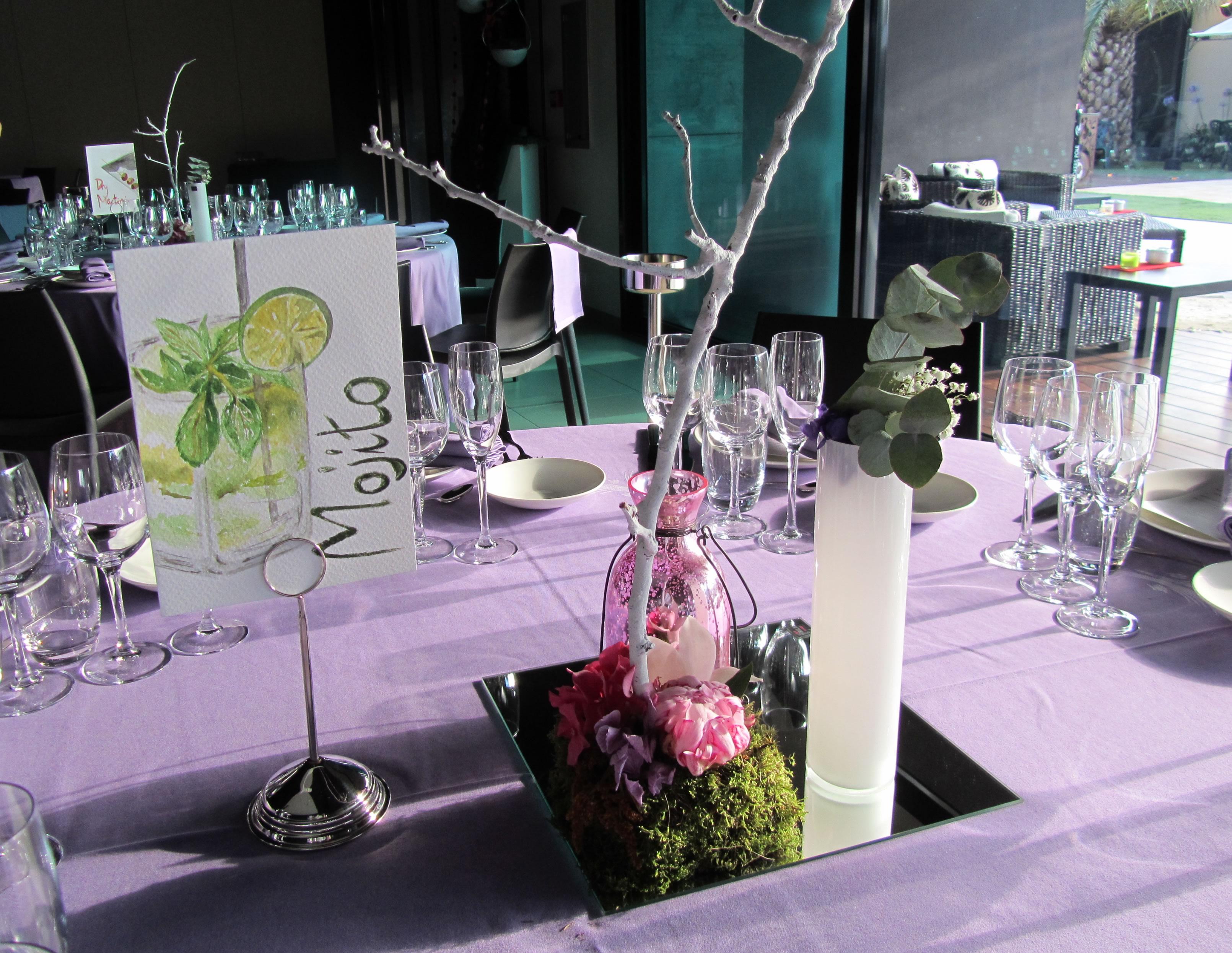 Por qu identificar las mesas de tu boda puede ser for Decoracion de casa quinta para casamiento